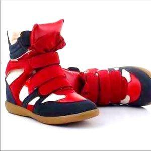 "Isabel Marant "" Beckett"" Wedge Sneakers"